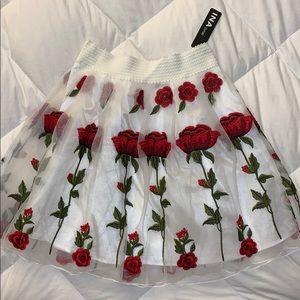 Fancy Rose Skirt